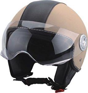 miglior casco jet in pelle
